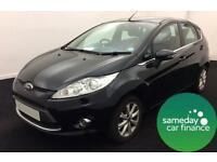 £129.26 PER MONTH 2010 FORD FIESTA 1.4 ZETEC HATCHBACK PETROL MANUAL