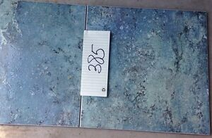"""12.5""""by 12.5"""" Green/Blue Tiles made in Italy"""