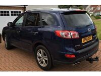 Hyundai Sante fe 4x4 2.2 Diesel. Low mileage (NOT Kuga, Landrover, qashqai, kia)