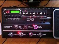zoom g7.1ut multi effects pedal