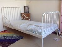 Children's bed - IKEA Minnen bed frame (mattress available)