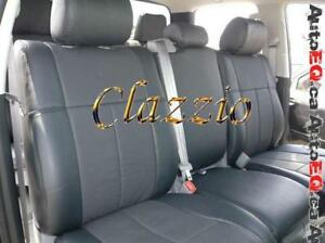 Clazzio Synthetic Leather Seat Covers (Front + Rear Rows) | 2012-2018 Ford F250 F350 Super Duty