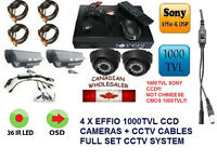 Camera Systeme de Surveillance Security CCTV DVR Recorder System