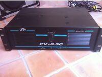 Peavey CLASSIC 8.5c AMP - 550watt x 2 channels