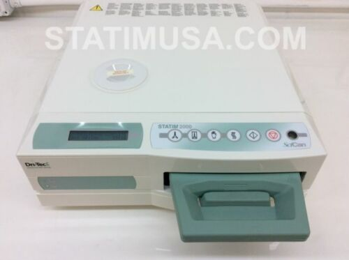 Scican Statim 2000 demo unit With UNDER 25 CYCLES!  1 year warranty!  Buy now!