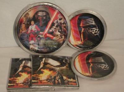 Star Wars Party Plates Set 56 Pc Tableware Lot Dinner Dessert Paper Plate Napkin - Star Wars Party Plates