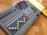 ROLAND VS 1680 16 TRACK DIGITAL RECORDER STUDIO VXPANDED WITH SCSI PLEX WRITER CD BURNER