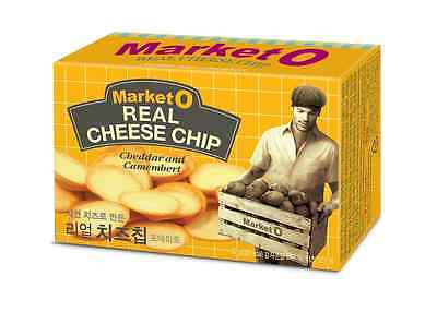 ORION Market O REAL CHEESE CHIP 60g x 36pack Set, Cheddar Camembert Potato