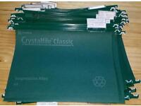 Crystalfile Classic A4 suspension hanging files NOT FOOLSCAP