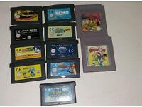 Nintendo gba and gameboy games