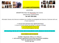 $150 and up - CJs HAIR EXTENSIONS: TAPE-IN, MICRO-BEADS, FUSION