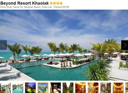 8 NIGHTS for 2 Adults - Beyond Resort Khaolak Thailand - 4-5 Star Maroochydore Maroochydore Area Preview