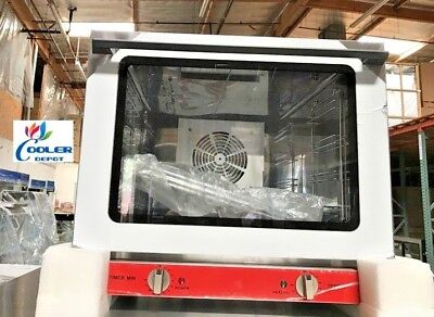 New Commercial Electric Convection Counter Top Oven Restaurant 19x18x14 Nsf