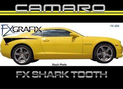 2010 Chevrolet Camaro Shark Tooth Side Stripe Kit Top Quality 3m Stripes Fx