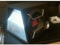 JbL car speaker. Cam deliver.