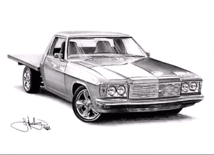 holden one tonner v8 project Burnie Burnie Area Preview