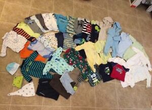 0-3 & 3 Month Baby Clothing Lot