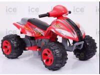 Ride on quad