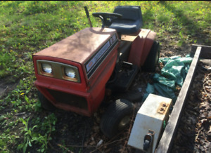 Wanted old riding lawn tractors.