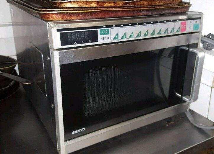 Used Sanyo Emc1901 1900w Commercial Microwave | in West End, Glasgow |  Gumtree