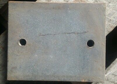 Exco Equipment Mounting Pad Cnc High Definition Plasma Cut Drilled Tapped Welder