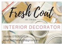 Interior painter and decorator