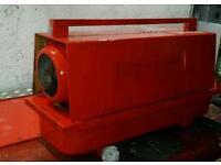 Garage diesel heater 230v
