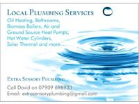Local Plumbing and Heating Engineer, Central Heating, Hot Water Cylinders, NO JOB TOO SMALL OR BIG