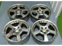 Mercedes AMG Style 18x8.5J alloy wheels 5x112 VW Audi Vag Seat Skoda