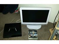 PS3 bundle, 7 games and TV