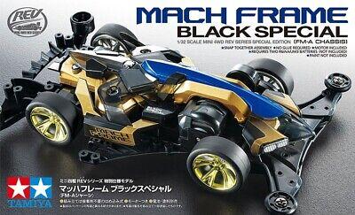 TAMIYA 95587 MINI 4WD MACH FRAME BLACK SPECIAL (FM-A CHASSIS) KIT 1/32