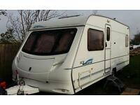 Ace Aristocrat 2004, 4 berth caravan fixed bed caravan for sale