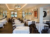 WAITER WAITRESS required for Michelin starred restaurant