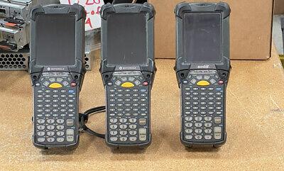 Lot Of 3 - Symbol Motorola Mc9190 Mc9090 Wireless Barcode Scanner