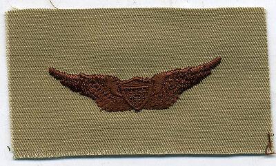 US Army Aviator Wing badge DCU Desert Tan Patch