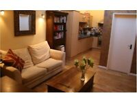 Furnished 1 Bed garden flat with parking for rent - Ewell Road Surbiton