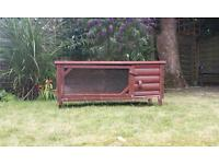 Animal hutch for rabbits, Guinea pigs and more
