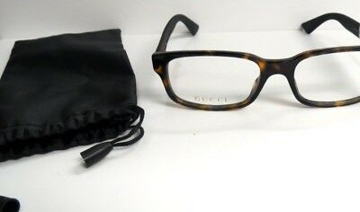 Gucci Eyeglasses men's GG0012O 002 Black Frames 54-18-145