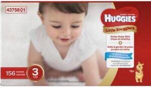 Huggies Little Snugglers Diapers - Size 3