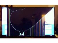 Inside cracked tv for sale 50 inch