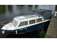 Viking 23ft river / canal boat