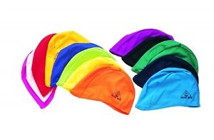 LYCRA-swim-cap-swimming-ANY-COLOR-special-needs-ear-wrap-Water-Gear-pool-35400
