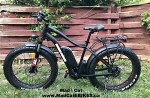 Electric Fat tire Bicycle - ON SALE - LIMITED STOCK