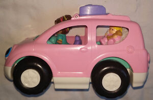 Fisher Price Little People Melody the Mini Pink Van / Car