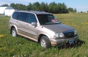 2001 Suzuki Grand Vitara SUV, Crossover