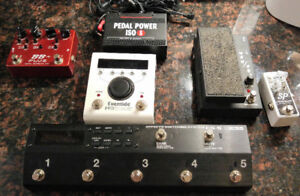 Guitar Pedals (Xotic, Boss ES-5 Loop Switcher, and more