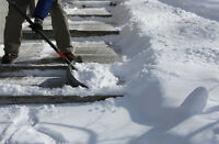 Sidewalk Snow Shovelers Wanted