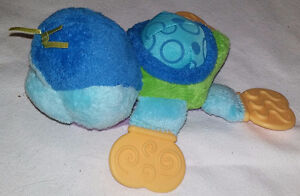 Plush PlayGrow Turtle with Rattle Tummy and Teether Feet London Ontario image 2