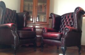 High-backed Leather Chairs
