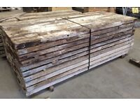 DRY Used Scaffold Planks for Kindling Sticks Firelighters Fire Wood, Bale of 50 £100